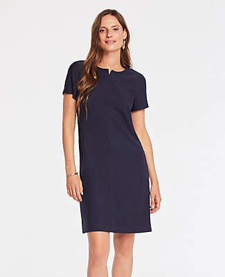 Ann Taylor Chevron Shift Dress