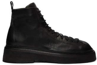 Marsèll Black Parruccona Lace-Up Boots