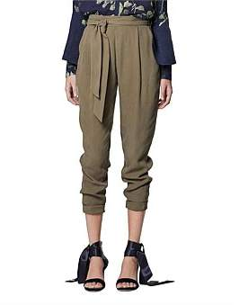 Once Was Relaxed Tie Waist Pant