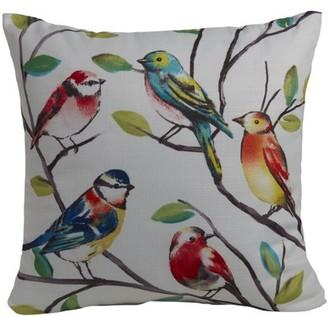 Mainstays Bird Decorative Throw Pillow, Multicolored