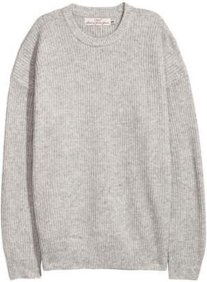 H&M Oversized Sweater - Gray