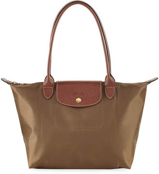 Longchamp Le Pliage Neo Small Tote Bag, Green $105 thestylecure.com