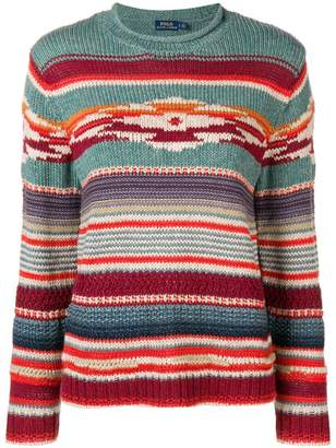 Polo Ralph Lauren intarsia stripe sweater