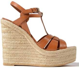 Saint Laurent Tribute Wedge Sandals