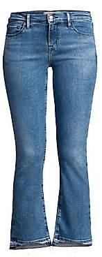 J Brand Women's Selena Cropped Boot-Cut Jeans
