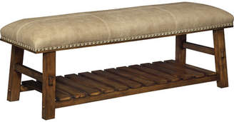 Millwood Pines Tabor Fabric Storage Bench