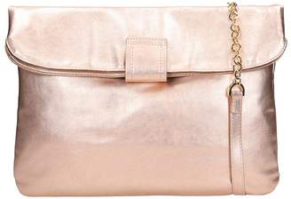 L'Autre Chose Lautre Chose LAutre Chose Powder Pink Laminated Leather Tote Bag