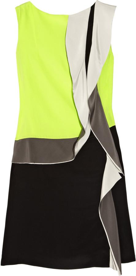 Diane von Furstenberg Shizuka ruffled silk dress