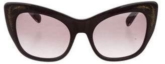 Zac Posen Anna Tinted Sunglasses