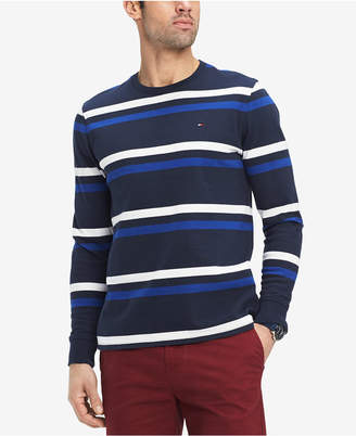 Tommy Hilfiger Men's Long-Sleeve Striped Shirt
