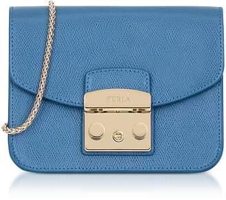 Furla Celeste Leather Metropolis Mini Crossbody Bag
