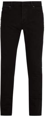 Valentino Rockstud Untitled #6 Slim Leg Jeans - Mens - Black