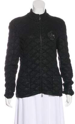 Chanel Quilted Wool Jacket