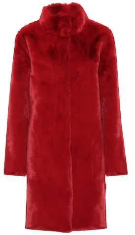 Mina faux fur reversible coat