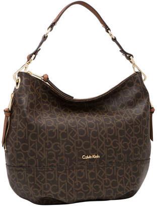 Calvin Klein H3DCJ247 Hudson Monogram Hobo Bag