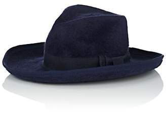 Lafayette House of Women's Galagos 1 Fur Felt Fedora - Navy