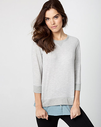 Le Château Cotton French Terry 2-in-1 Top
