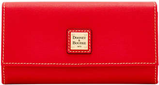 Dooney & Bourke Saffiano Framed Continental Wallet