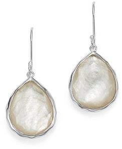 Ippolita Sterling Silver Wonderland Teardrop in Mother-of-Pearl Earrings