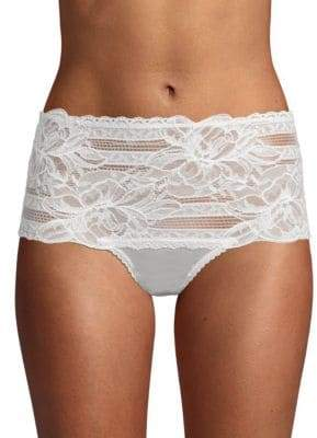 Mimi Holliday Floral Embroidered High-Waist Panty