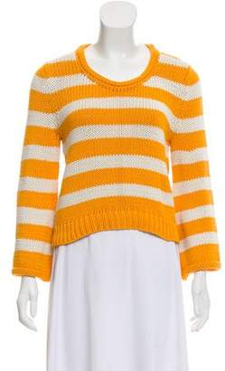 Chris Benz Striped Knit Sweater