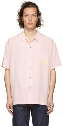 Double Rainbouu Pink Night Crawler Tiger Hawaiian Shirt