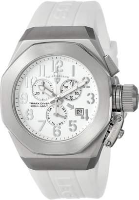 Swiss Legend Men's 10542-02-SA Trimix Diver Chronograph Dial Silicone Watch