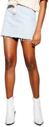 Topshop Denim Miniskirt
