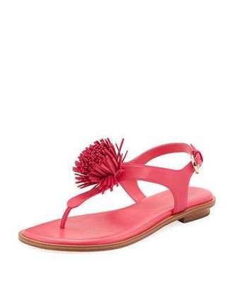 MICHAEL Michael Kors Lolita Fringe Flat Thong Sandal