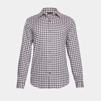 Cotton Check Clean Shirt