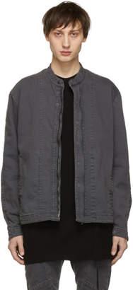 Julius Grey Denim Seamed Jacket