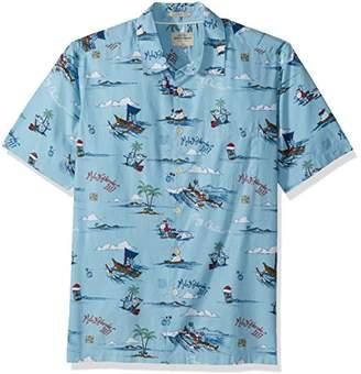 Quiksilver Waterman Men's Christmas in Makano Button Down Shirt