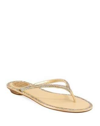 72af8d6e6e7559 Rene Caovilla Flat Heel Women s Sandals - ShopStyle