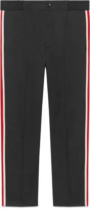 Cotton jogging pant with Sylvie Web $750 thestylecure.com