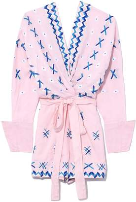 Magda All Things Mochi Playsuit in Baby Pink