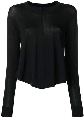 MM6 MAISON MARGIELA swing style jumper