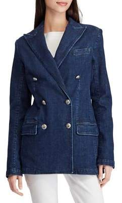 Lauren Ralph Lauren Stretch Denim Blazer