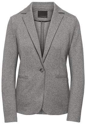 Banana Republic Unstructured Stretch Knit Blazer