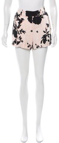 A.L.C.A.L.C. Silk Mini Shorts w/ Tags