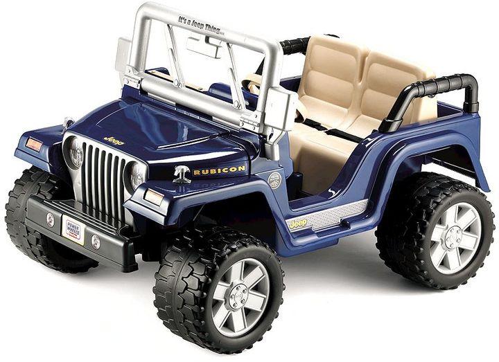 Fisher-Price Power wheels jeep wrangler rubicon ride-on