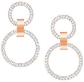 Swarovski Crystal Hollow Chandelier Earrings