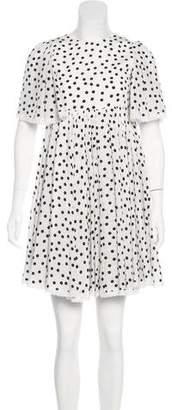 Dolce & Gabbana Girls' Silk Printed Dress w/ Tags