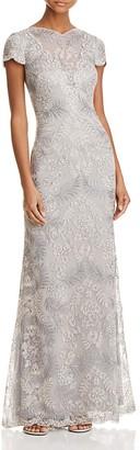 Tadashi Shoji Illusion Lace Gown $548 thestylecure.com