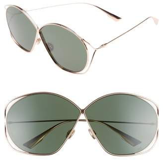 Christian Dior Stellaire 2 68mm Oversize Butterfly Sunglasses