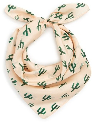 Women's Sole Society Cactus Silk Scarf $34.95 thestylecure.com