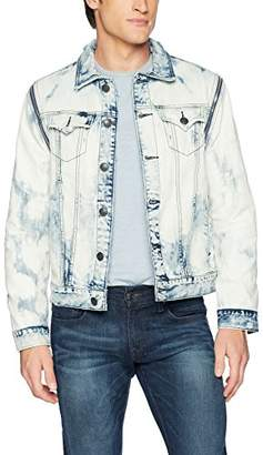 True Religion Men's Danny Convertible Denim Jacket