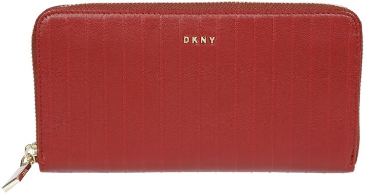 DKNYDkny Quilted Long Wallet