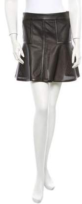Belstaff Brompton Leather Skirt w/ Tags $425 thestylecure.com