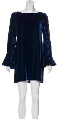 Elizabeth and James Velvet Mini Dress w/ Tags