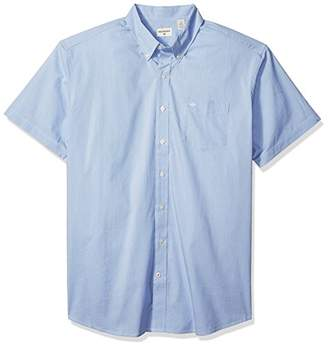 Dockers Big and Tall Short Sleeve No Wrinkle Stretch Button-Front Shirt